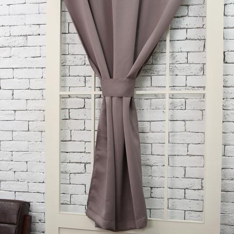 Pure純色窗簾110x165-紫藕