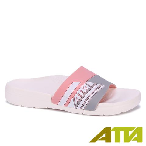 ATTA人體工學減壓足弓防滑拖鞋-粉(25)